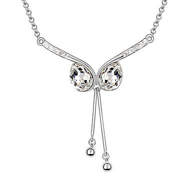 Pentru femei Coliere cu Pandativ Cristal Design Unic La modă Personalizat Bijuterii Pentru Nuntă Petrecere Zi de Naștere