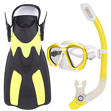 Σετ αναπνευστήρα Πακέτα για Κολύμπι με Αναπνευστήρα Αναπνευστήρες Πτερύγια κατάδυσης Μάσκες Κατάδυσης Στεγνή κορυφήΚαταδύσεις & Κολύμπι