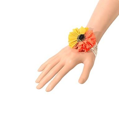 Naisten Ranneketjut Muoti Pitsi Crown Shape Oranssi Korut Varten Party Erikoistilaisuus Syntymäpäivä Kihlaus 1kpl
