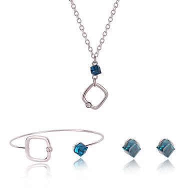 Damskie Zestawy biżuterii Stop Inne Modny Codzienny 1 parę kolczyków Naszyjniki Biżuteria kostiumowa