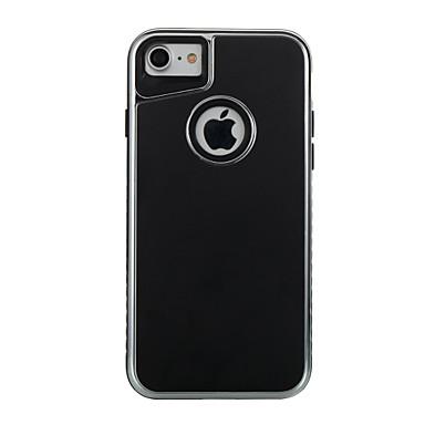 Για Επιμεταλλωμένη Παγωμένη tok Πίσω Κάλυμμα tok Μονόχρωμη Μαλακή TPU για AppleiPhone 7 Plus iPhone 7 iPhone 6s Plus iPhone 6 Plus iPhone
