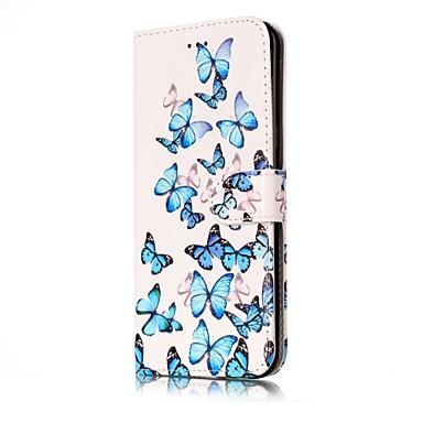 Maska Pentru Samsung Galaxy S8 Plus S8 Titluar Card Portofel Cu Stand Întoarce Carcasă Telefon Fluture Greu PU piele pentru S8 Plus S8 S7