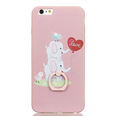 Etui Käyttötarkoitus Apple Sormuksen pidike Kuvio Takakuori Elefantti Kova PC varten iPhone 6s Plus iPhone 6s iPhone 6 Plus iPhone 6