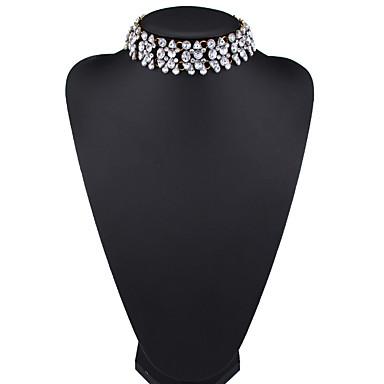 Kadın's Gerdanlıklar Mücevher Mücevher Deri alaşım Euramerican Moda Mücevher Uyumluluk Parti