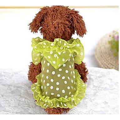 كلب الفساتين ملابس الكلاب أميرة أرجواني أصفر قطن كوستيوم للحيوانات الأليفة للرجال للمرأة جميل كاجوال/يومي