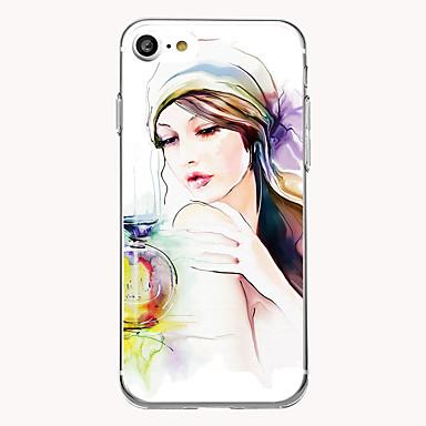 Kılıf Na Apple Ultra cienkie Wzór Etui na tył Seksowna dziewczyna Miękkie TPU na iPhone 7 Plus iPhone 7 iPhone 6s Plus iPhone 6 Plus