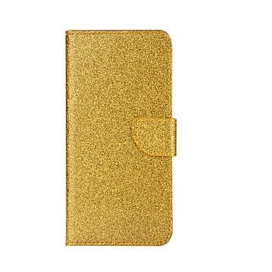 Için Cüzdan Kart Tutucu Satandlı Flip Pouzdro Tam Kaplama Pouzdro Glitter Parlatıcı Sert PU Deri için AppleiPhone 7 Plus iPhone 7 iPhone
