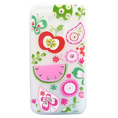 Uyumluluk Kılıflar Kapaklar Taşlı Karanlıkta Parlayan Buzlu Yarı Saydam Temalı Arka Kılıf Pouzdro Meyve Yumuşak TPU için AsusAsus ZenFone