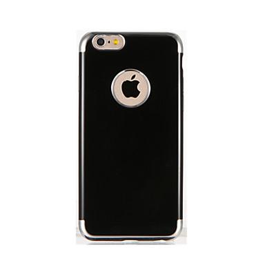 غطاء من أجل iPhone 7 Plus iPhone 7 iPhone 6s Plus أيفون 6بلس iPhone 6s ايفون 6 Apple تصفيح غطاء خلفي لون الصلبة ناعم TPU إلى iPhone 7