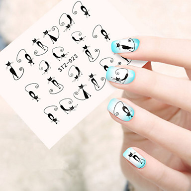 5pcs/set Nail Art autocolant Decals de transfer de apă machiaj cosmetice Nail Art Design