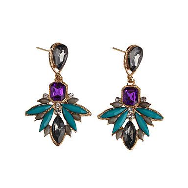 Damskie Kolczyk Biżuteria Artystyczny Modny euroamerykańskiej Syntetyczne kamienie szlachetne Biżuteria Biżuteria Na Ślub Impreza