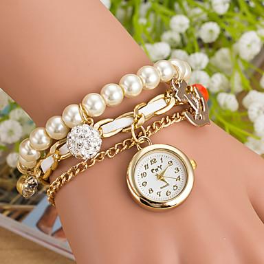 Pentru femei Ceas de Mână Ceas Elegant Ceas La Modă Ceas Sport Quartz Mare Dial Piele Autentică Bandă Charm Multicolor
