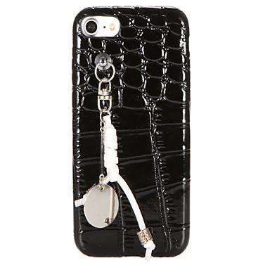 Pentru Reparații Maska Carcasă Spate Maska Culoare solida Moale PU piele pentru AppleiPhone 7 Plus iPhone 7 iPhone 6s Plus iPhone 6 Plus