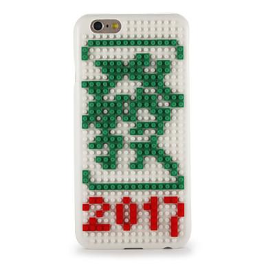Για Με σχέδια Φτιάξτο Μόνος Σου tok Πίσω Κάλυμμα tok Κινούμενα σχέδια 3D Σκληρή PC για AppleiPhone 7 Plus iPhone 7 iPhone 6s Plus iPhone
