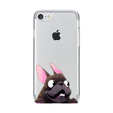 غطاء من أجل Apple iPhone 7 Plus iPhone 7 شفاف نموذج غطاء خلفي كلب ناعم TPU إلى iPhone 7 Plus iPhone 7 iPhone 6s Plus ايفون 6s iPhone 6