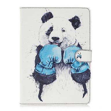 Pentru Portofel Titluar Card Cu Stand Întoarce Model Maska Corp Plin Maska Animal Greu PU piele pentru Apple iPad 4/3/2