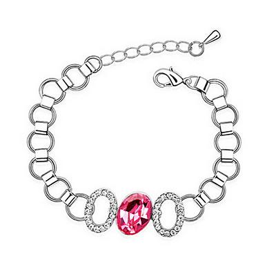 Damskie Bransoletki i łańcuszki na rękę Biżuteria Przyjaźń Modny Cyrkon Stop Geometric Shape Biżuteria Impreza Urodziny