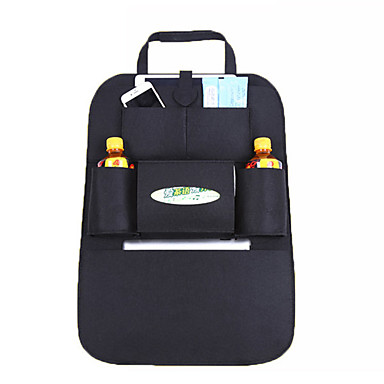 حقيبة معلقة لأدوات التجميل منظم أغراض السفر المحمول مضاعف تعليق متعددة الوظائف تخزين السفر إلى ملابس قماش لباد / سادة