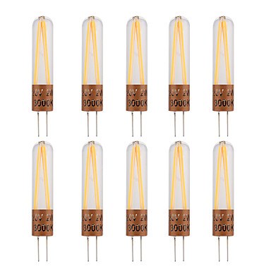2W G4 Becuri LED Bi-pin T 2 led-uri COB Decorativ Alb Cald Alb Rece 170lm 2800-3200/6000-6500K AC220V