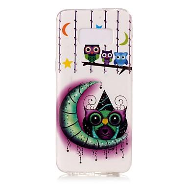tok Για Samsung Galaxy S8 Plus S8 Λάμπει στο σκοτάδι IMD Με σχέδια Πίσω Κάλυμμα Γάτα Μαλακή TPU για S8 S8 Plus S7 edge S7 S6 edge S6 S5