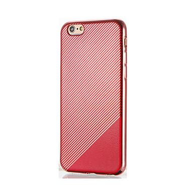 Για Επιμεταλλωμένη tok Πίσω Κάλυμμα tok Μονόχρωμη Μαλακή TPU για AppleiPhone 7 Plus iPhone 7 iPhone 6s Plus iPhone 6 Plus iPhone 6s