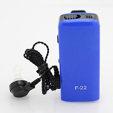 άξονα f-22 νέα αόρατη μικρότερο audiphone προσωπική καλύτερο ήχο ενισχυτή ρυθμιζόμενο ήχο ακουστικά βαρηκοΐας acousticon
