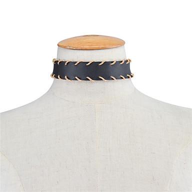 Pentru femei Altele Personalizat Modă Punk Euramerican Coliere Choker Bijuterii Piele  Coliere Choker . Petrecere Ocazie specială Zilnic