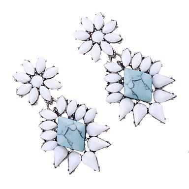 Kadın's Damla Küpeler Mücevher Moda Eski Tip Euramerican Değerli Taş Mücevher Mücevher Uyumluluk Düğün Parti Özel Anlar