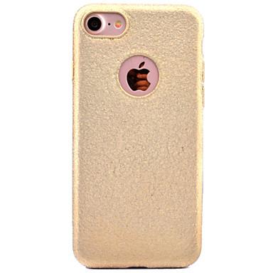 إلى مثلج غطاء غطاء خلفي غطاء لون صلب ناعم TPU إلى Apple فون 7 زائد فون 7 iPhone 6s Plus iPhone 6 Plus iPhone 6s أيفون 6