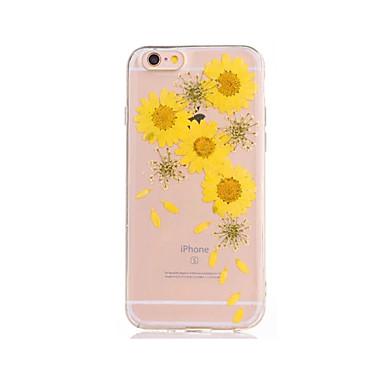 Pentru Reparații Maska Carcasă Spate Maska Floare Moale TPU pentru AppleiPhone 7 Plus iPhone 7 iPhone 6s Plus iPhone 6 Plus iPhone 6s