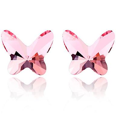 Pentru femei Cercei Stud Cristal Personalizat Design Animal Adorabil Euramerican Bijuterii Pentru Nuntă Petrecere Zi de Naștere