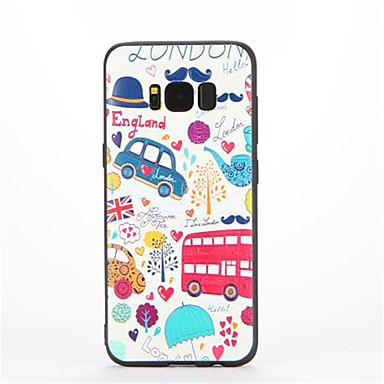 tok Για Samsung Galaxy Με σχέδια Πίσω Κάλυμμα Λέξη / Φράση Μαλακή TPU για S8