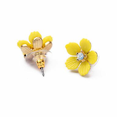 Pentru femei Cercei Stud Bijuterii La modă Personalizat Euramerican Floral Bijuterii Pentru Nuntă Petrecere Zi de Naștere