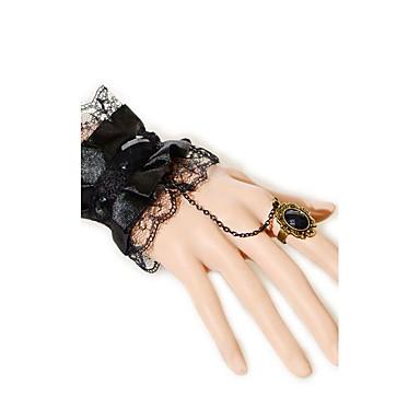Kadın's Zincir & Halka Bileklikler Moda Dantel Kanatlar / Tüy Mücevher Uyumluluk Düğün Parti Özel Anlar Doğumgünü Yılbaşı Hediyeleri