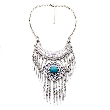 Pentru femei Coliere Bijuterii Piatră Preţioasă Aliaj Bijuterii Natură Euramerican Personalizat Albastru Deschis BijuteriiPetrecere