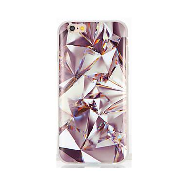Için IMD Temalı Pouzdro Arka Kılıf Pouzdro Glitter Parlatıcı Yumuşak TPU için AppleiPhone 7 Plus iPhone 7 iPhone 6s Plus iPhone 6 Plus