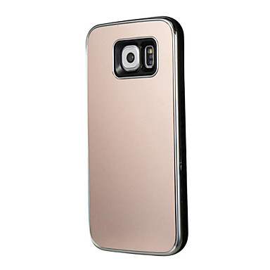 tok Για Samsung Galaxy S7 edge S7 Επιμεταλλωμένη Πίσω Κάλυμμα Συμπαγές Χρώμα Σκληρή PC για S7 edge S7 S6 edge S6