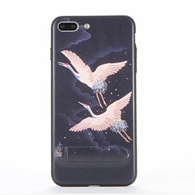 Pentru Cu Stand Model Maska Carcasă Spate Maska Animal Greu PC pentru AppleiPhone 7 Plus iPhone 7 iPhone 6s Plus iPhone 6 Plus iPhone 6s