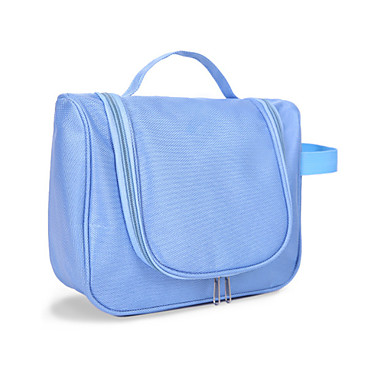 حقيبة أدوات تجميل للسفر حقيبة مستحضرات التجميل مقاوم للماء المحمول سعة كبيرة سميك تخزين السفر إلى ملابس أكسفورد نايلون /