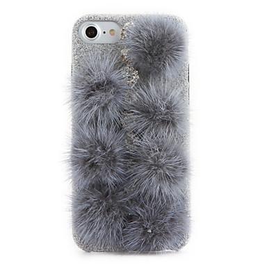 غطاء من أجل iPhone 7 Plus iPhone 7 iPhone 6s Plus أيفون 6بلس iPhone 6s ايفون 6 Apple حجر كريم اصنع بنفسك غطاء خلفي لون الصلبة قاسي منسوجات
