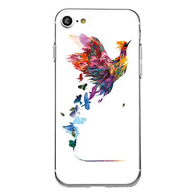 Etui Käyttötarkoitus Apple Ultraohut Kuvio Takakuori Flamingo Pehmeä TPU varten iPhone 7 Plus iPhone 7 iPhone 6s Plus iPhone 6 Plus