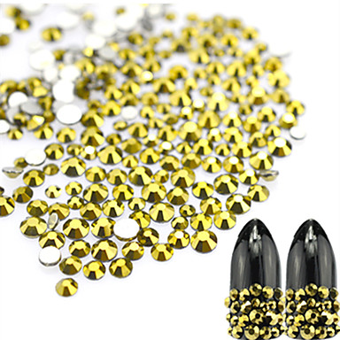 1 bag Biżuteria do paznokci / Glitter i Poudre Błyskotki / Ślub / Połyskujące Słodkie Codzienny