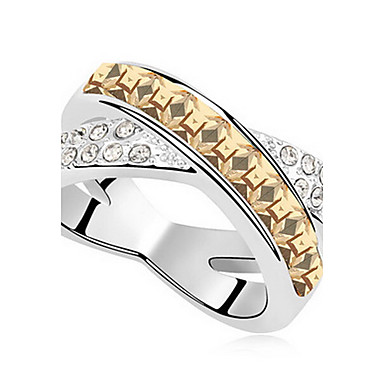 Ανδρικά Γυναικεία Δαχτυλίδια Ζευγαριού Κοσμήματα Εξατομικευόμενο Βασικό Euramerican Συνθετικοί πολύτιμοι λίθοι Κοσμήματα Κοσμήματα Για