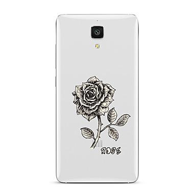 Na Przezroczyste Wzór Kılıf Etui na tył Kılıf Kwiat Miękkie TPU na XiaomiXiaomi Mi 5 Xiaomi Mi 4 Xiaomi Mi 5s Xiaomi Mi 5s Plus Xiaomi Mi