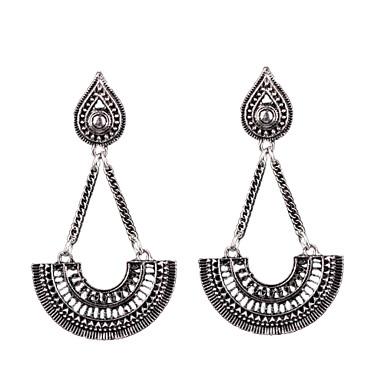 Kolczyki wiszące Modny Postarzane Bohemia Style euroamerykańskiej Stop Biżuteria Silver Biżuteria Na Ślub Impreza Codzienny Casual 1 para