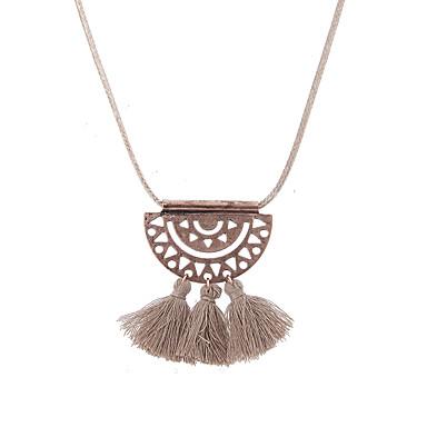 Damskie Geometric Shape Kształt Unikalny Wiszący Kutas Wyrazista biżuteria Multi-sposoby Wear Naszyjniki z wisiorkami Biżuteria Stop