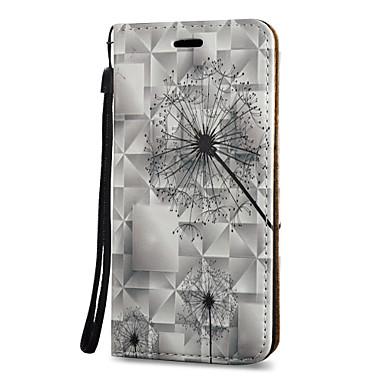 Maska Pentru Samsung Galaxy S8 Plus S8 Titluar Card Cu Stand Întoarce Model Magnetic Corp Plin Păpădie Greu PU Piele pentru S8 S8 Plus S7