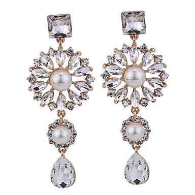 Γυναικεία Κουμπωτά Σκουλαρίκια Κοσμήματα Μοντέρνα Πεπαλαιωμένο Euramerican Πετράδι Μαργαριτάρι Κοσμήματα Κοσμήματα Για Γάμου Πάρτι Ειδική