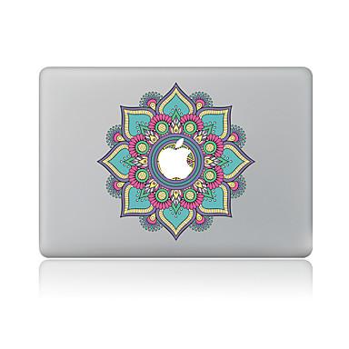 1 parça Deri Etiket için Çizilmeye Dayanıklı Çiçek Tema PVC MacBook Pro 15'' with Retina MacBook Pro 15'' MacBook Pro 13'' with Retina