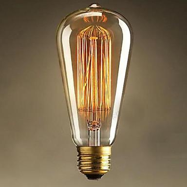 st64 e27 25w edison art deco valo (220v) korkealaatuisia hehkulamppuja